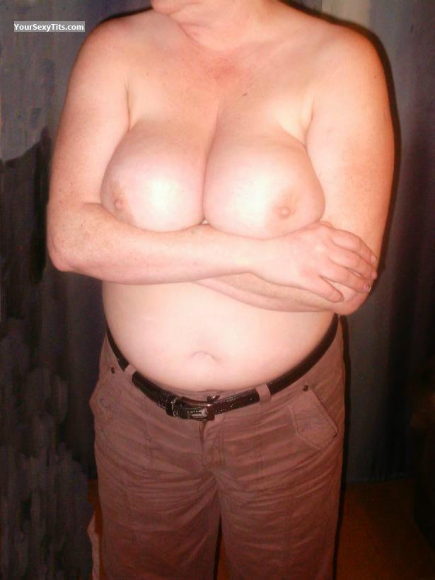 Tit Flash: My Very Big Tits - Manu5662 from United States